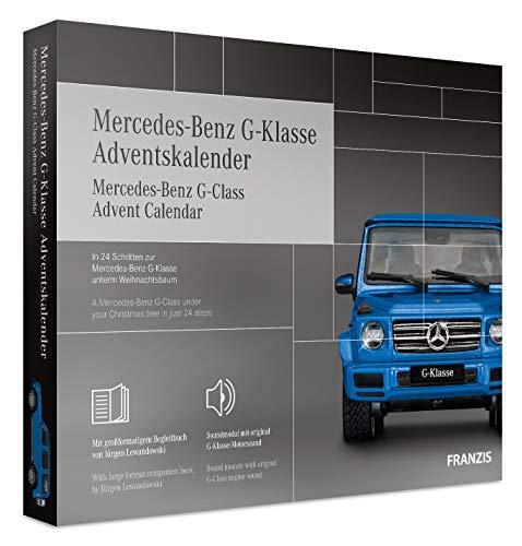 FRANZIS Mercedes-Benz G-Klasse Adventskalender 2020 | In 24 Schritten zur Mercedes-Benz G-Klasse unterm Weihnachtsbaum | Ab 14 Jahren