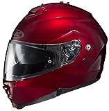 HJC Unisex Adult is-MAX II Wine Modular Helmet 980-265
