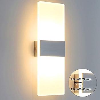 wei/ß 336223116 EEK A+ 2-flammig Philips myLiving Date LED Wandleuchte