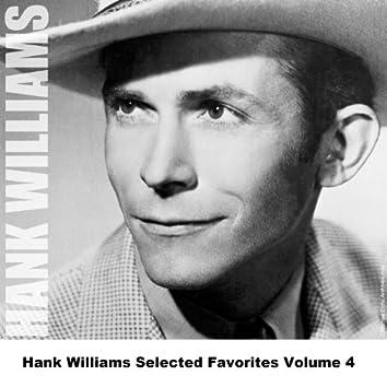 Hank Williams Selected Favorites, Vol. 4