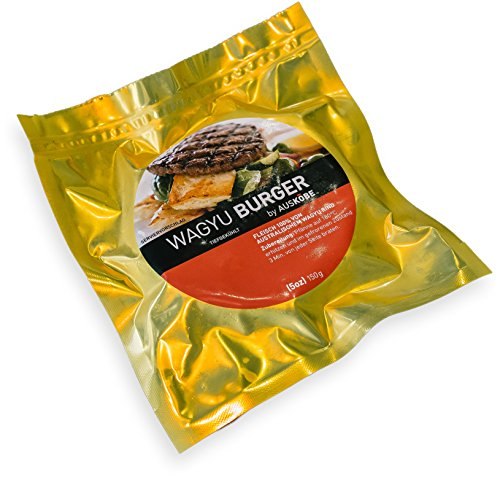AUSKOBE Wagyu-Burger in Goldfolie (6er Pack)