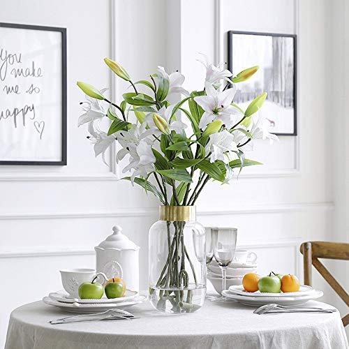 Cylinder flower vase decor