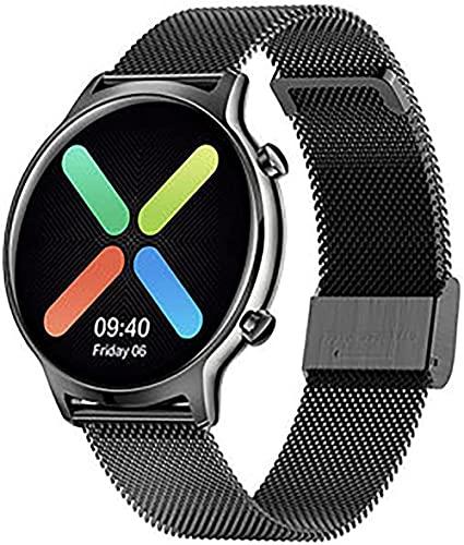 wyingj Reloj inteligente para mujer con podómetro de actividad IP68, resistente al agua para Android Smart Watch-F
