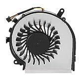Radiador Ventilador de Refrigeración, Ventilador de Refrigeración de La CPU, Alta Potencia Eólica, Buena Disipación Del Calor, Aplicación: Serie MSI GE62 GL62 GE72 GL72 GP62 GP72 PE60 PE70