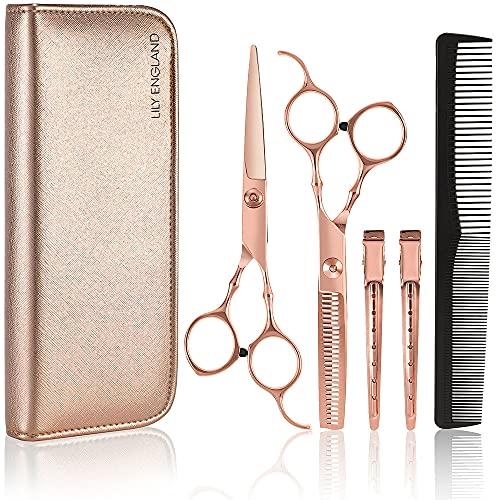 Professional Hairdressing Scissors Set for Women - Hairdresser Barber Hair...