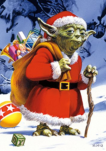 Star Wars - Holiday Yoda - 300 Large Piece Jigsaw Puzzle