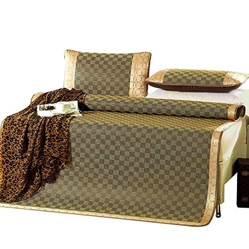 ZHANG-liangxi Matratze Rattan Gras Isomatte Sommer Schweißabsorbierend Atmungsaktiv Glatt Faltbare Bettwäsche Cooles Einzelzimmer, 8 Größen - Sommer Schlafmatte (Size : 90X190cm)