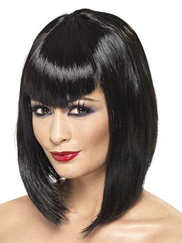 Claque Perruque Noir