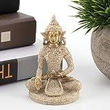 Jacksking Decoración de Buda Estatua de Buda, Estatua de Talla de decoración del hogar, Estatuilla de Buda Arte de Buda, para el hogar para la decoración del hogar(B Gold)