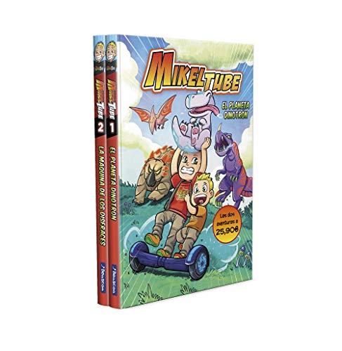 Pack MikelTube: El planeta Dinotrón | La máquina de los disfraces (MikelTube 1 y 2): 150005 (Pequeños youtubers)