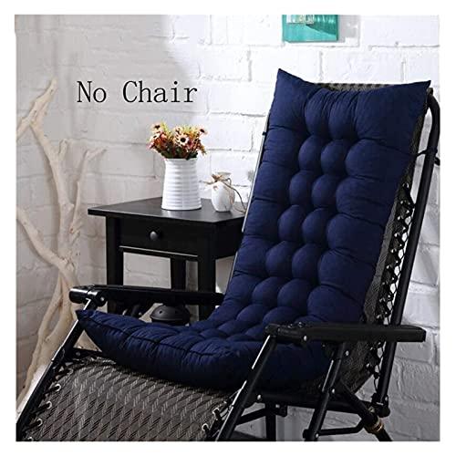 Cuscini da seduta cuscini di sedia addensare patio cuscino for sedia a dondolo con 6 cravatte, schienale alto sedia reclinabile cuscino, cuscino for sedie for sedie for sedia, relax tappetino tappetin