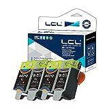 LCL Kompatibel Tintenpatrone INK-M210 INK-M215 INK-C210 M210 M215 C210 (2Schwarz 2Farbe) Ersatz für Samsung CJX-1000 1050W 2000 CJX-1000 CJX-1050 CJX-1050W CJX 2000 CJX1000 CJX1050 CJX1050W
