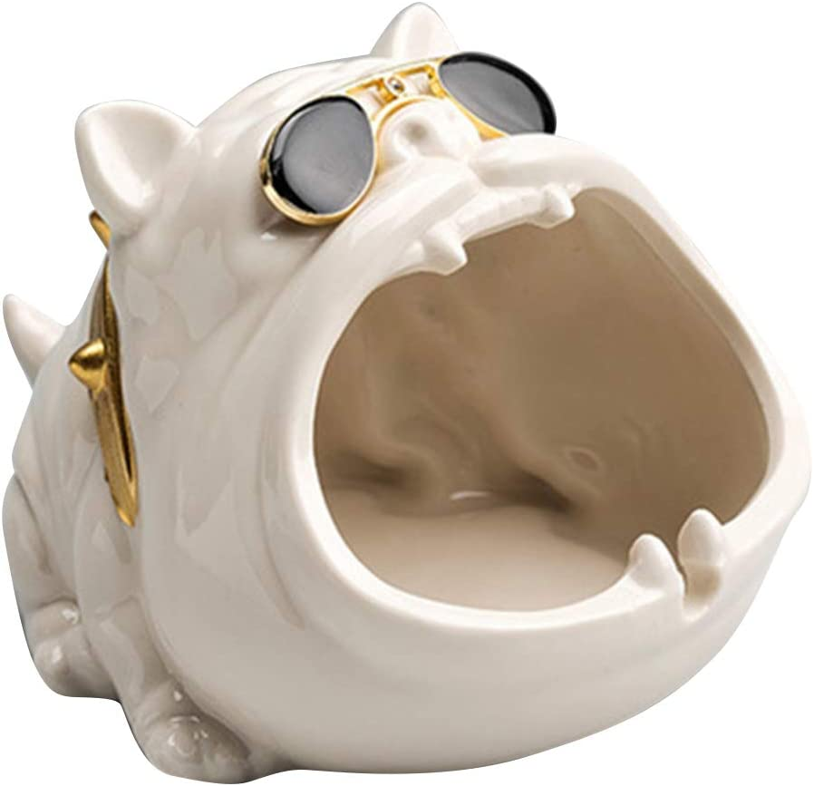 Cute Cartoon Dog Mail order Ashtray Wi Personality Creative Award-winning store Ceramic