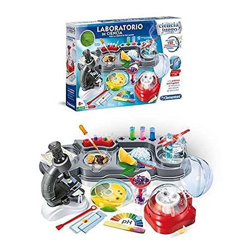 Clementoni-55242 - El Laboratorio de Ciencia - juego científico a partir de 8 años