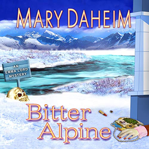 Bitter Alpine audiobook cover art