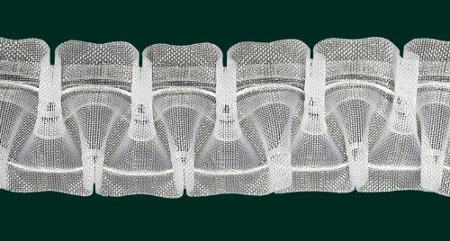 Ruther & Einenkel Smokband, 50 mm, volltransparent, 200% / Aufmachung 10 m