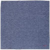 むす美 風呂敷 ソフトデニム 無地 50 小風呂敷 中巾 綿 日本製 ギフトラッピング付 (ブルー)