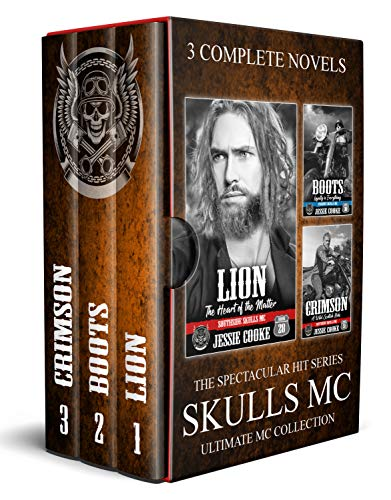 Skulls MC: Lion, Boots, Crimson (The Ultimate MC Collection Book 11) (English Edition)