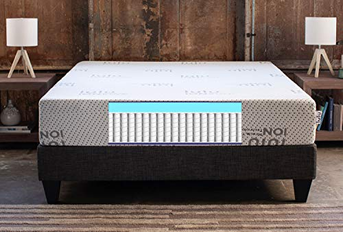 Review Lulu 11 inch Queen Size Hybrid Innerspring Mattress