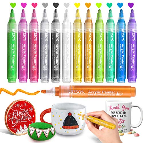 (50% OFF) Acrylic Paint Pens $7.00 – Coupon Code