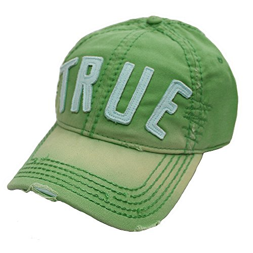 True Religion 'True' Logo Patch TR1770 Hat Cap