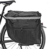 Pannier Bag Impermeable,Alforjas Dobles para Bicicleta,Gran...