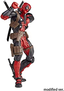 Yanshangqi Deadpool Figura de acción Revoltech - X-Men Series - Accesorios - Alto reemplazables 6,29 Pulgadas