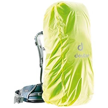 Deuter Rain Cover III Waterproof Rain Cover for Backpacks 45L to 90L, Neon