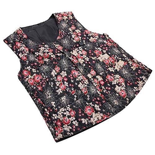 Heizweste, beheizte Kleidung, Ein-Schlüssel-Heizung Doppelschicht-Wärmeschutzreise für Frauen zu Hause Mann(XL)