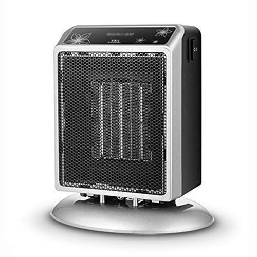 LJHA Chauffage, Petit ménage Chauffage d'appoint Portable dans Un dortoir pour étudiants Petit climatiseur Ultra-Silencieux (Couleur : Silver)