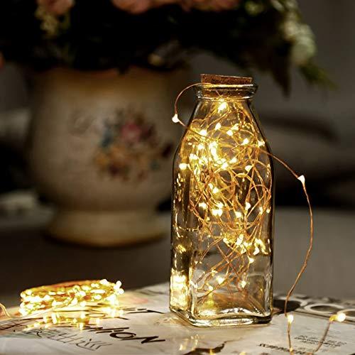 Alta eficiencia Alquiler de alambre de cobre secuencia del LED LED 3M / boda for 5M Decoración / Christmas Treen / habitaciones de niños Inicio iluminación llevada Jieyue ( Wattage : 5 Meter 50 Leds )