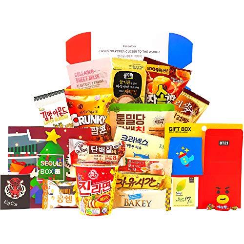 Signature SeoulBox | Authentic Korean Snacks and Epic Kpop Merch Gift Box