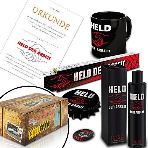 Held der Arbeit - Set + DDR Traditionsprodukte / Geburtstagsgeschenke für Freund