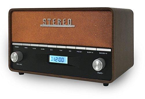 AKAI R200 Radio Vintage Madera, Bluetooth