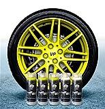 Sophisticauto Full Dip Packs Ahorro Llantas 5 Sprays Amarillo Fluo