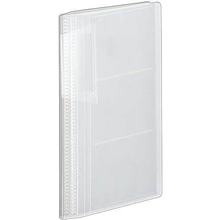コクヨ ファイル カードホルダー ノビータ スリム 60枚 360枚収容 透明 メイ-N236T
