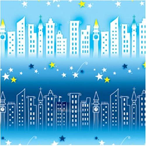 Fensterfolien Glasaufkleber Glas-Film 90 Cm Breites 2 M Langes Badezimmer-Wohnzimmer-Schlafzimmer-Fenster-Aufkleber-Lichtdurchlässiger Undurchlässiger Bambus 6001, Sternenklarer Pavillion 6028