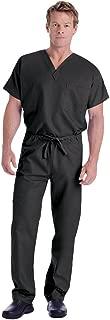 Landau Unisex V-Neck Scrub Top 7502 & Scrub Pant 7602 Medical Uniform Scrub Set