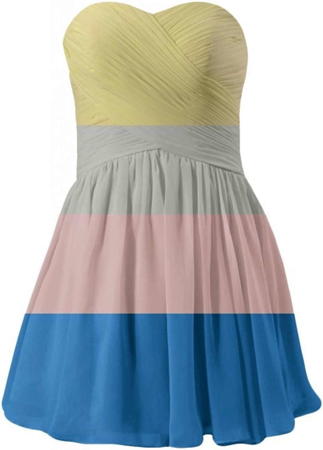 DaisyFormals reg; Strapless Prom Dress Mini Party Dress Cocktail Dress(BM800N)