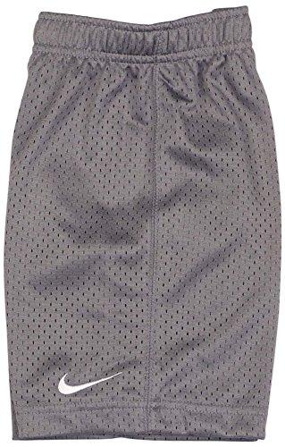 Nike Kids Boy's Essential Mesh Shorts (Little Kids) Cool Grey 4 Little Kids