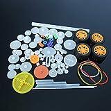 POWERTOOL - Kit de engranajes de plástico para bricolaje (78 piezas)...