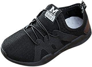 Yochyan_子供靴 女の子 男の子 スニーカー 運動靴 ベビーシューズ 子供シューズ ランニングシューズ 通気 可愛い 歩く練習 柔らか 履き脱ぎやすい 散歩 スリップオン レタープリント カジュアル ファッション おしゃれ 日常着