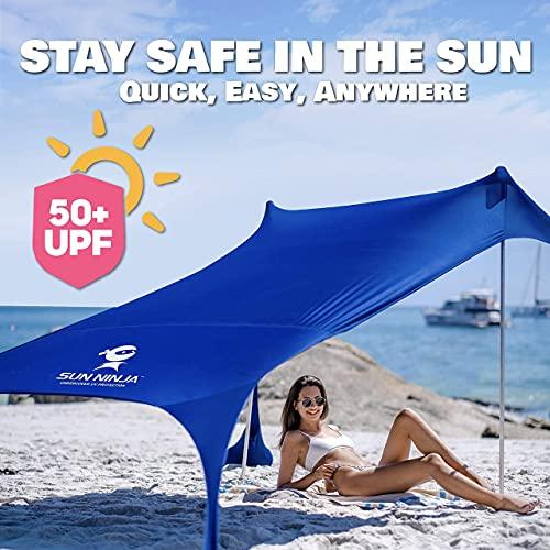SUN NINJA Parasoles y tiendas de playa