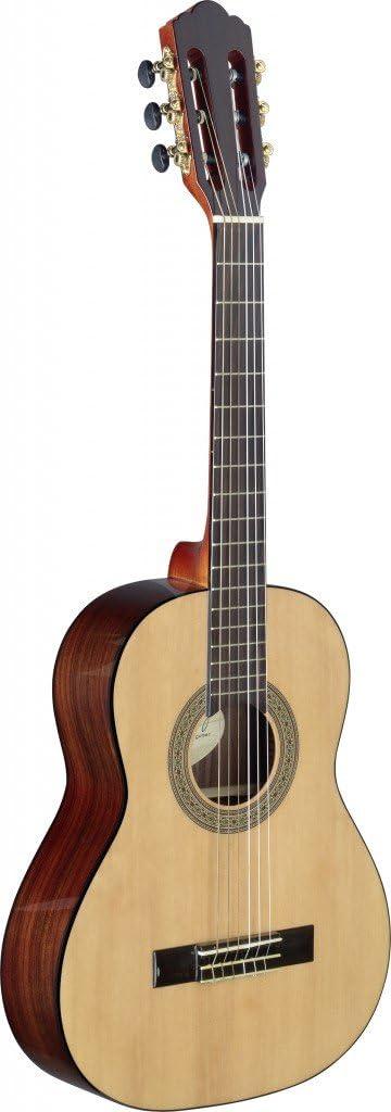 Angel Lopez CER-3/4 S - Guitarra clásica, talla 3/4, color natural