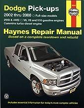Dodge Pick Ups (02 - 08): Full size models 2WD & 4WD, V6, V8 and V10 petrol