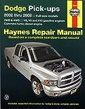 Dodge Pick-ups: 2002 thru 2008 (Hayne's Automotive Repair Manual)