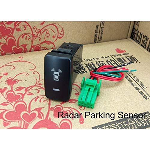 Read About Fog Light LED Camera Recorder Monitor Radar Parking Sensor Music Switch Button Wire for G...