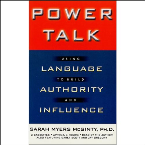 Power Talk audiobook cover art
