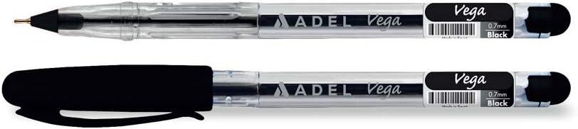 Adel 2210130102000 Vega Tükenmez Siyah