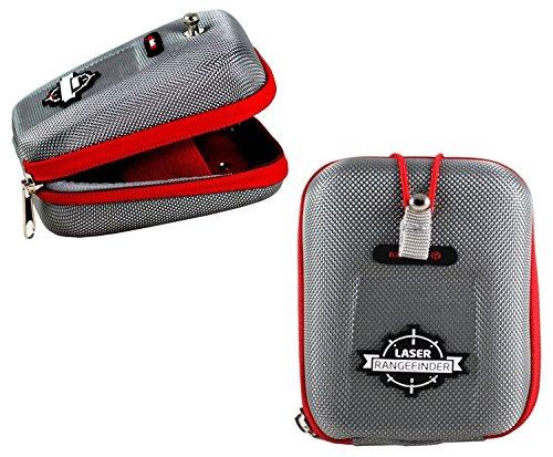 Navitech Housse étui Compatible avec Bushnell Tour V1, V2, V3, V4 Télémètre Golf GPS (Toutes éditions) avec Mousqueton